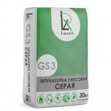 Штукатурка гипсовая GS3 30 кг (белая) РН/МН